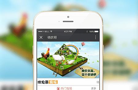 农业电商系统微信开发案例